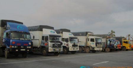 Nhà xe vận tải hàng hóa