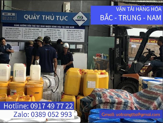 Vận chuyển hàng Bình Định đi Sóc Trăng