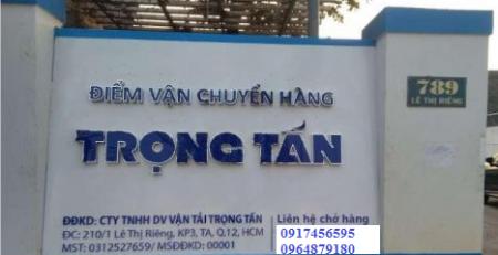 Chành gửi hàng Thái Nguyên đi Quảng Trị