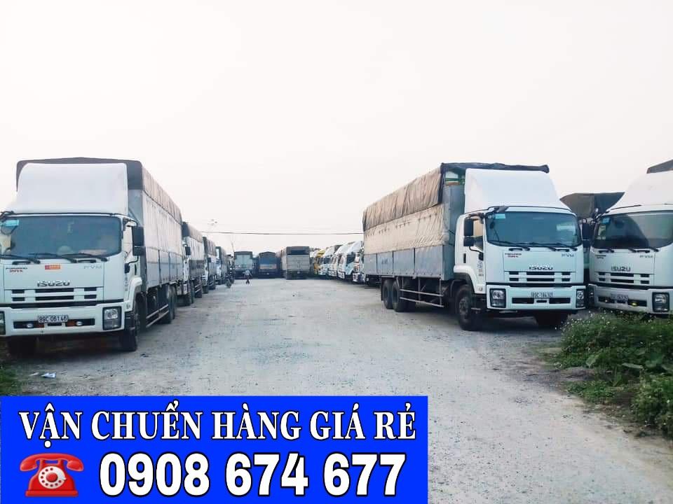 Chành xe tải Hà Nội Cà Mau