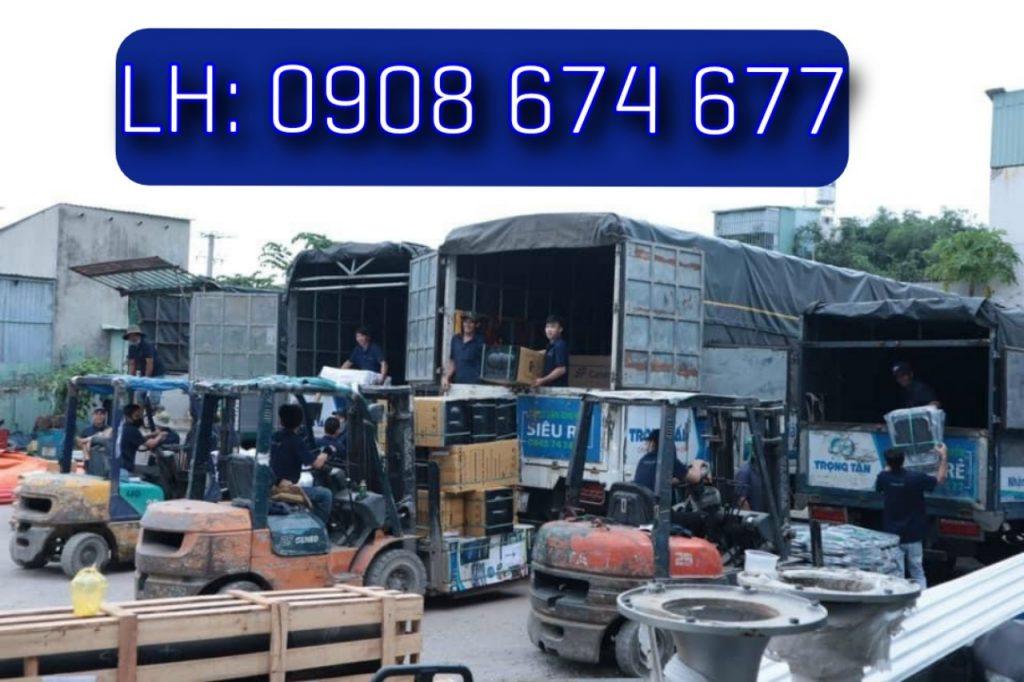 Xe Tải Chở Hàng HCM Ninh Bình