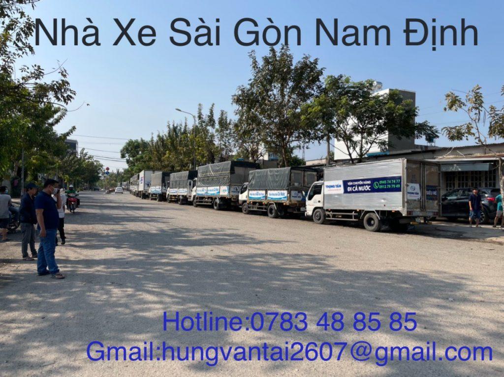 Đội Xe Gửi Hàng Nhanh Giá Rẻ Sài Gòn Nam Định