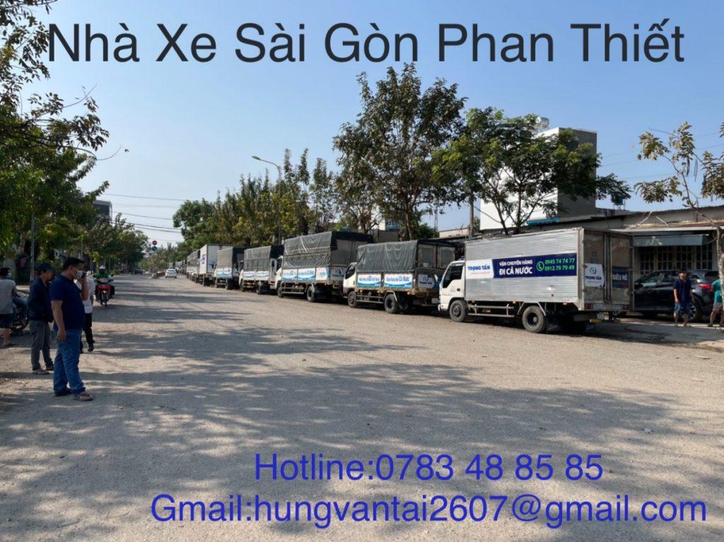 Nhà Xe Vận Chuyển Hàng Nhanh Chóng Sài Gòn Phan Thiết