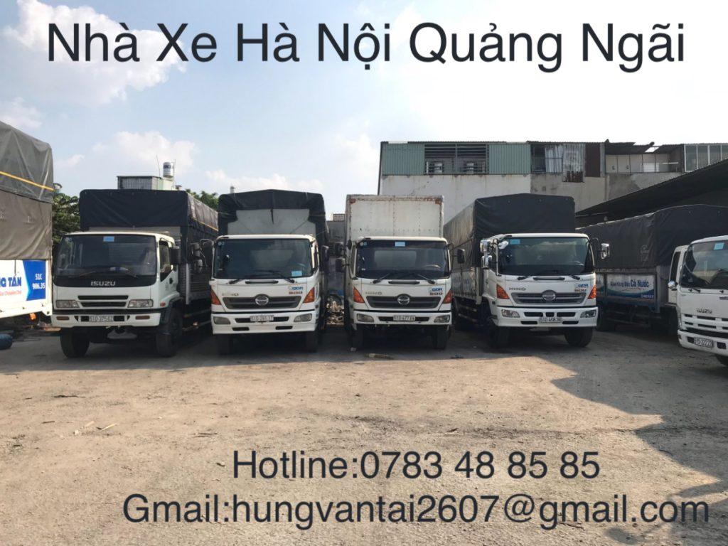 Nhà Xe Hà Nội Quảng Ngãi