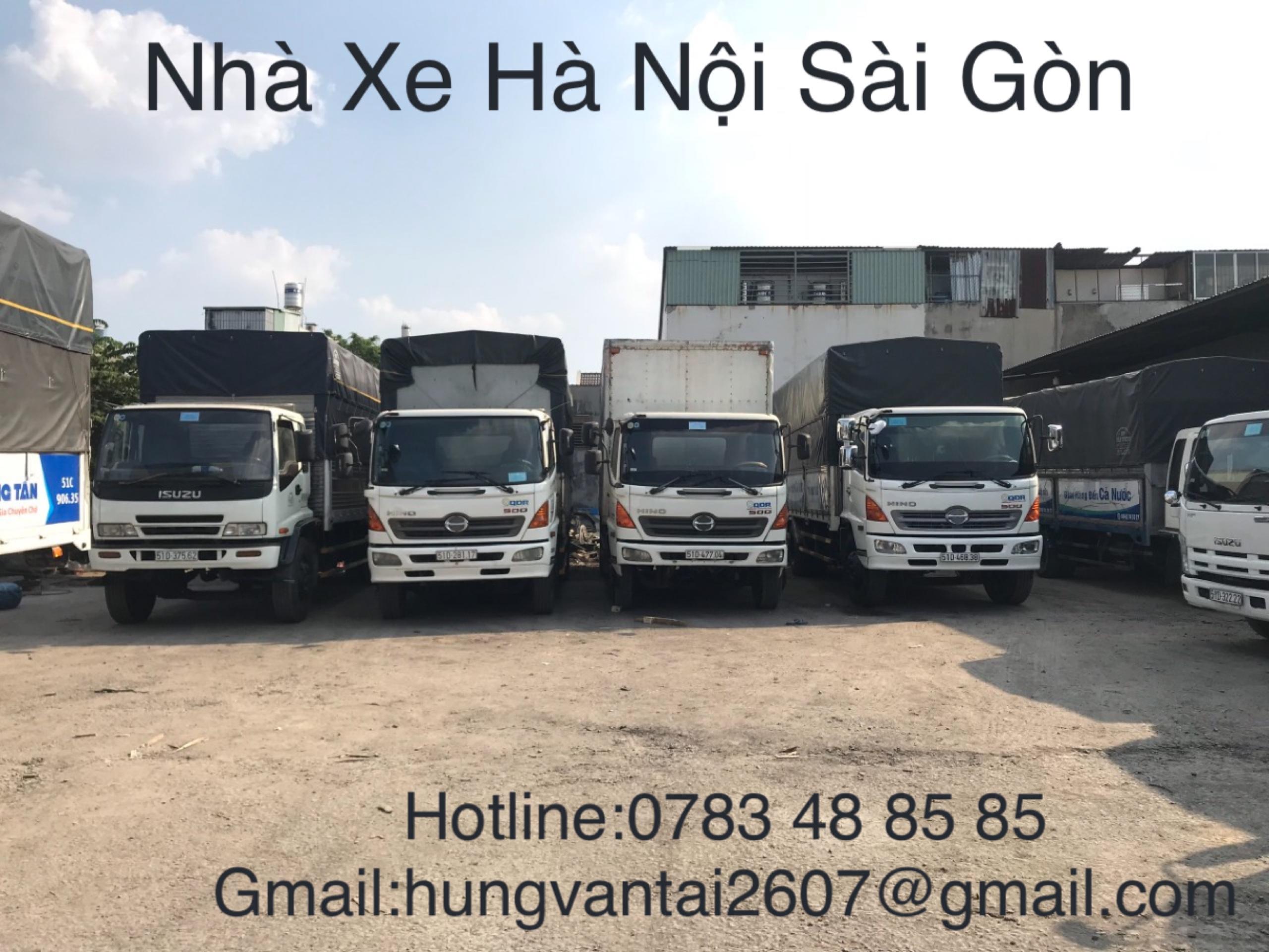 Chuyển Hàng Nhanh Hà Nội đi Sài Gòn