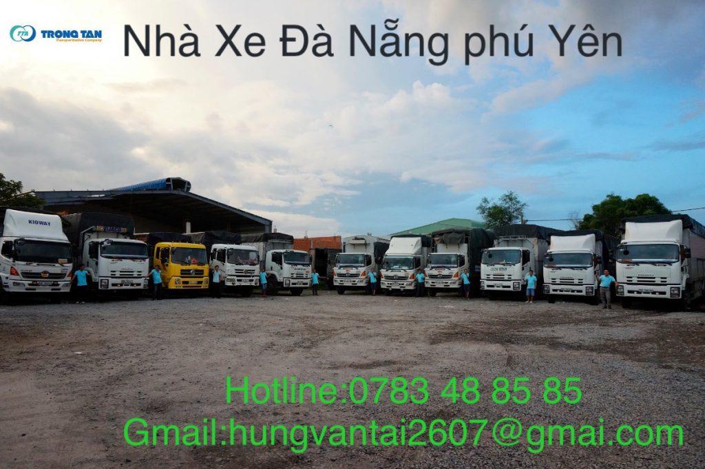 Đội Xe Nhận Chuyển Hàng Nhanh Chóng Đà Nẵng Phú Yên